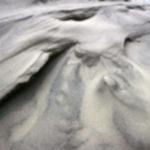 Sandklit i nærbillede